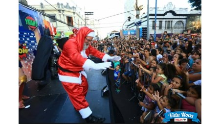 Resgate do Papai Noel ACIF